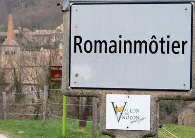 Pourquoi le nom de Romainmôtier?