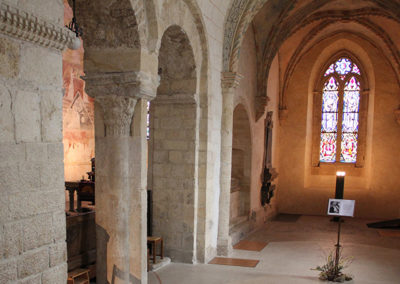 Romainmôtier, une église romane et gothique…