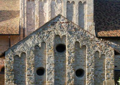 Clocher, transept nord