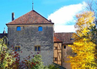 Maison du Prieur, face ouest