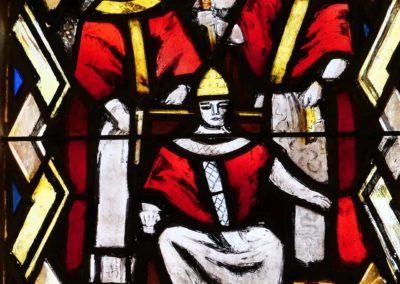 Vitrail de la visite d'Etienne II